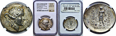 2nd - 1st Centuries BC Celts Lower Danube Tetradrachm Greek NGC  Ch VF