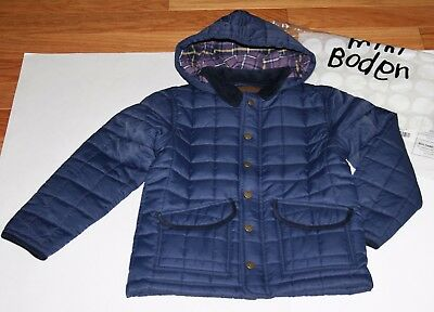 Nwot Mini Boden Boys Quilted Jacket Size 7 8 Years 45 00 Picclick