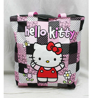 b753f2ed6 Hello Kitty Patch Tote Bag, New for Kids Girls Sanrio Shoulder Bag