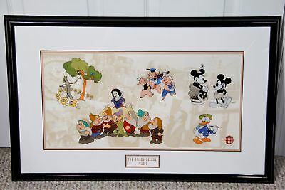DISNEY DECADES: THE 1930s Limited Edition Framed Sericel (Disney Ent., 2000) COA