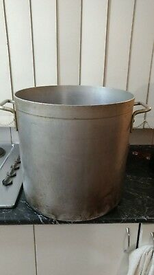 Commercial Aluminium Cooking Stock Pot 40lt