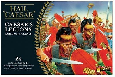 New Warlord Games Caesarian Romans With Gladius Figures Two Boxes 2Mbd-Wgh-Cr-01
