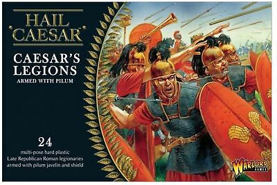 New Warlord Games Caesarian Romans With Pilum Two Figures Boxes 2Mbd-Wgh-Cr-02