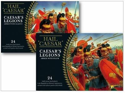 New Warlord Games Caesarian One Of Each Game Collectible Figures Ad-Wg-Pg-One