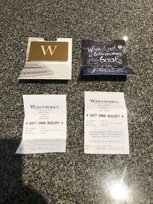 Waterstones Gift Cardvoucher 20 Value Can Be Used Online Or In