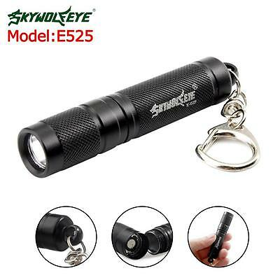 Mini 3W LED Flashlight Medical Pen Light Small Torch Lamp Portable Keychain TR
