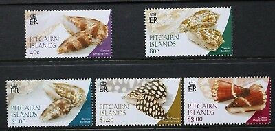 PITCAIRN ISLANDS 2003 Conus Shells. Set of 5. Mint Never Hinged. SG637/641.