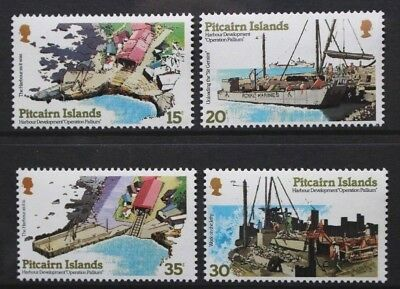 PITCAIRN ISLANDS 1978 Pallium Harbour WATERMARK LEFT. Set of 4. MNH. SG190/193.