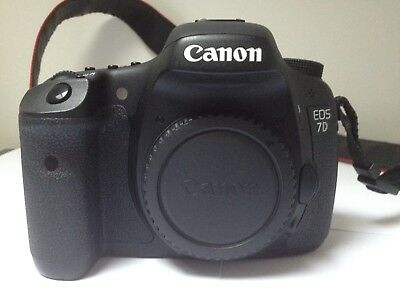 Canon EOS 7D 18.0MP Digital SLR Camera - Very good condition - 13k shutter count