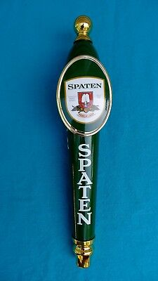 "SPATEN Premium Lager BEER TAP HANDLE- Brand-New, 13"" Tall; FREE SHIPPING!"