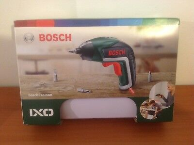 BOSCH - IXO 3.6V Lithium-ion Cordless Screwdriver 06039A8070 - Brand New/Sealed