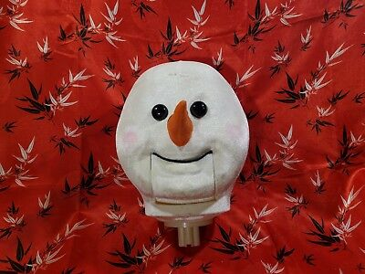 Head Only For Animated Life Size Snowman 5 Ft Christmas Singing Dancing Gemmy