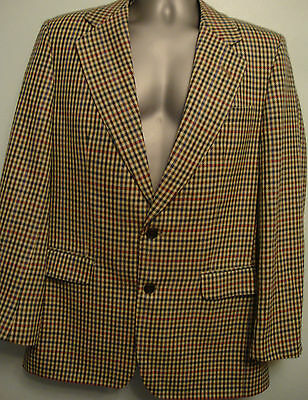Vintage Mens Blazer Jacket By Daks Of Jermyn St Size Chest 38R Medium