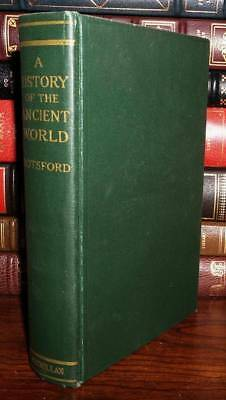 Botsford, George Willis A HISTORY OF THE ANCIENT WORLD 1st Edition 23rd Printing