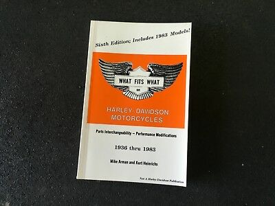 1936 - 1983 What Fits What on Harley-Davidson Motorcycles
