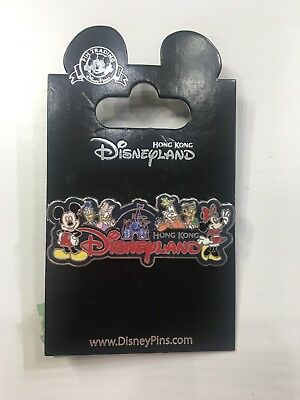 Hong Kong Disneyland Pin