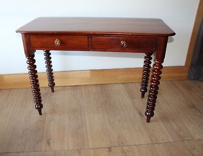 Rare Antique Australian cedar Cotton-reel desk. circa 1860