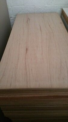 Plywood 810x405x3mm ply sheets project craft picture framing lining paint stain