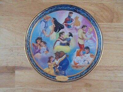 Vintage Walt Disney Ever After Collector Plate - Tenth Issue
