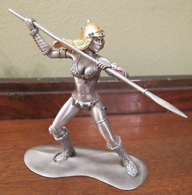 Rawcliffe Pewter Grenadier #1252 Female Frost Giant 1990