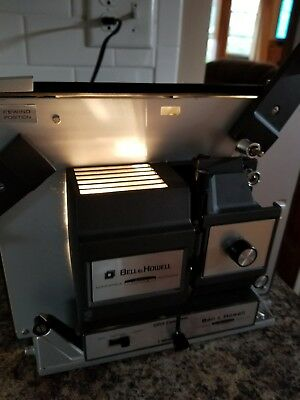 Vintage Bell Howell Autoload 8MM Super 8 Model 456 A Movie Projector Manual Case