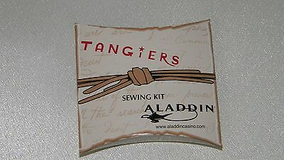 Aladdin Hotel and Casino Las Vegas- sewing kit- Closed- No Longer Exists- HTF