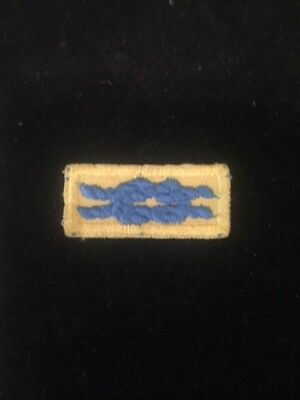 "BSA ADULT ""CUB MASTER TRAINING"" AWARD KNOT PATCH (Blue Yellow) - BOY / CUB SCOUT"
