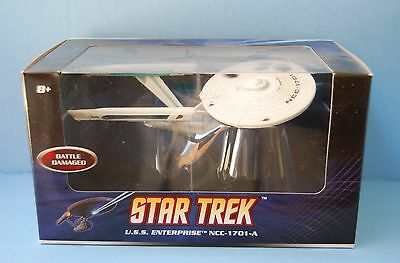Hot Wheels STAR TREK Battle Damaged U.S.S. Enterprise NCC-1701-A 2008 NIB Seald