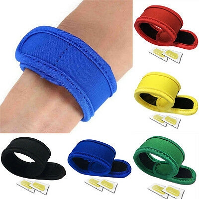 Anti Mosquito Insect Bug Repellent Bracelet Wrist Band Camping Outdoor New FT