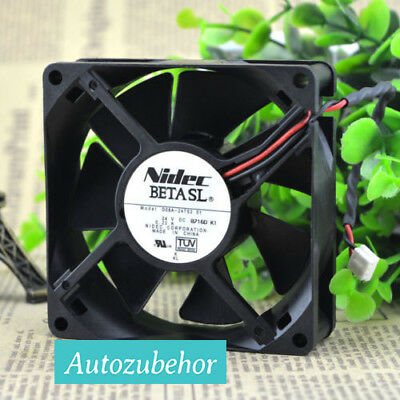 For NIDEC D08A-24TS2 01 Graphics card cooling fan DC24V 0.23A 2Pin