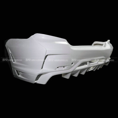 For Subaru GVB Ultimate VariStyle FRP Unpainted Fiber Glass Rear Bumper Body Kit