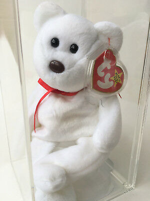 Ty Beanie Baby Maple Bear Oddity Missing No Flag Canada Authenticated MWMT-MQ