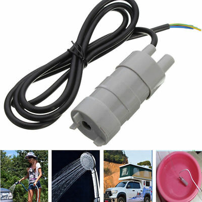 12V Submersible Water Pump Camper Caravan Motorhome High Flow Whale Pump New