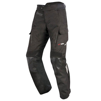 Alpinestars Andes V2 Drystar Black Moto Motorcycle Textile Trouser | All Sizes