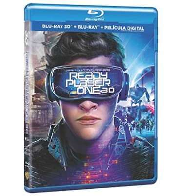 Ready Player One Blu-Ray 3d2d [Blu-ray]