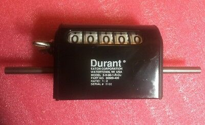 Durant 5-H-90-1-R-CL Counter