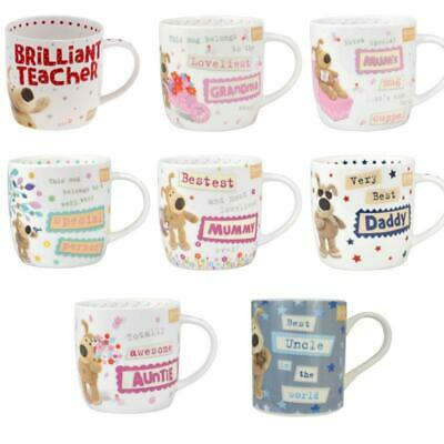 Boofle China Mug Coffee Tea Relations Boss Teacher Pup Friend Mum Dad Family