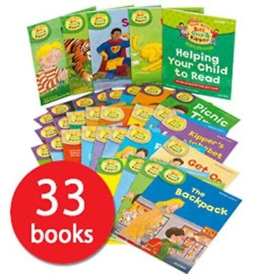 33 Books To Read At Home With Biff, Chip And Kipper Levels 1, 2 + 3 - For Age 3+
