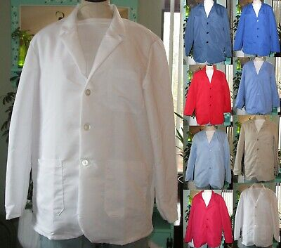 "Best Medical Staff L/S Woman Lab Coat 3 Pocket 30"" Length Sizes XS - 7X (32-66)"