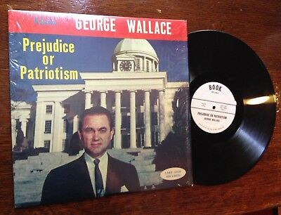 GEORGE WALLACE Prejudice or Patriotism Alabama Governor HARD TO FIND VINYL LP