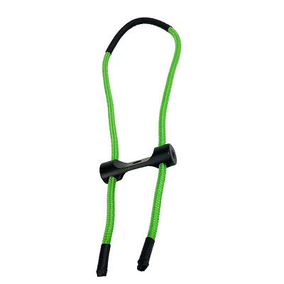 Archery Compound Bow Wrist Sling Strap Belt Cord Rope Accessories Green