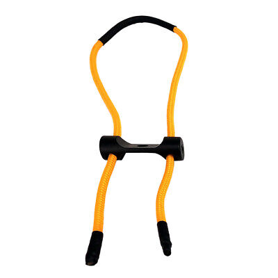 Archery Compound Bow Wrist Sling Strap Belt Cord Rope Accessories Yellow