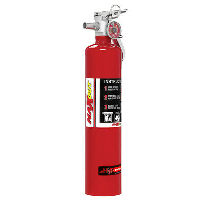 H3R Performance MX250R Fire Extinguisher MaxOut Dry Chemical 2-1/2 LB Red