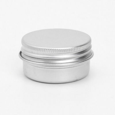 10 Round Tin Cans Empty Round Container Storage for Lip Balm Crafts Cosmetic