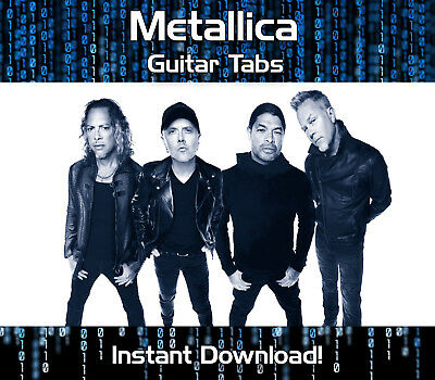 Metallica Rock Metal Guitar Tab Tablature Download Song Book Software Tuition