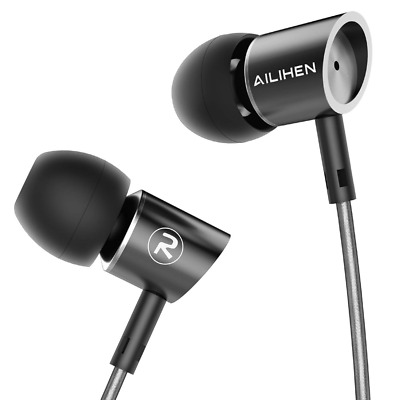 Metal Earbuds with Mic In Ear Headphones Wired Earphones for android/IOS NEW HOT