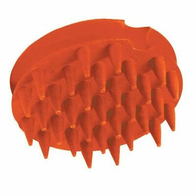 Abetta Groom Master Rubber Curry Comb with Long Teeth for Horse Grooming
