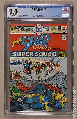 All Star Comics #58 1976 CGC 9.0 1571142008