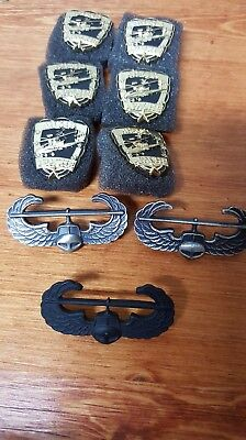 9 piece lot of HELICOPTER PINS