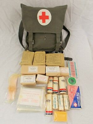Serbian / Yugoslavian Medical First Aid Kit, New Old Stock Military Surplus